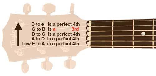 Guitar Fretboard Intervals