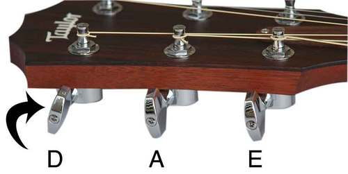 Tune your guitar Down, then tune to the right pitch