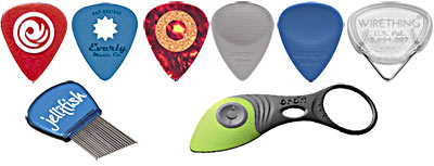 Unusual Guitar Picks